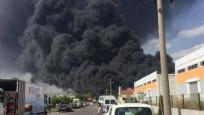 Antalya'da büyük yangın