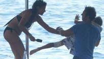 Nil Karaibrahimgil'in teknesinde dehşet anları