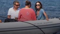 Sarkozy çifti Bodrum'da tatilde