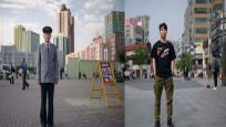 Kuzey ve Güney Koreli aynı mesleği yapan kişiler