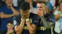 Cristiano Ronaldo gözyaşlarına hakim olamadı