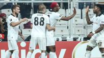 Beşiktaş Avrupa Ligi'ne galibiyetle başladı