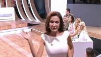 Rus sinema yıldızı, canlı yayında kendisini eleştiren seyirciye tokat attı