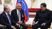 Çavuşoğlu-Maduro görüşmesine Diriliş Ertuğrul damgası