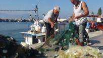 Marmara Denizi'nden balık yerine poşet çıktı