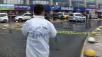 Taksiciler otogarda çatıştı