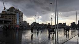 İstanbul'da yağış 20 saat sürecek
