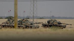 Türk tankları Marea'dan Suriye'ye girdi
