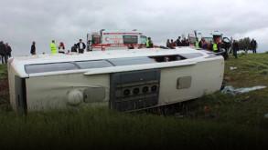 Türkiye bugün otobüs faciası haberleriyle sarsıldı