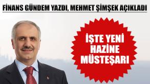 Yeni Hazine Müsteşarı belli oldu: Osman Çelik