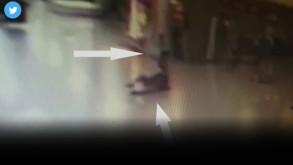 Saldırıda şok ayrıntı kameralar kaydetti!