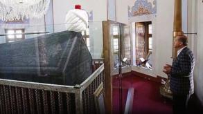 Erdoğan açılış öncesi Yavuz Selim Han'ın kabrini ziyaret etti