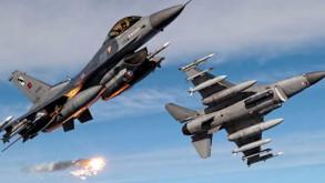 Türk jetleri Cerablus'un güneyinde YPG'yi vuruyor