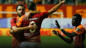 Galatasaray Akhisar'da liderliğe oturdu