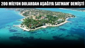 Ünlü iş adamının adası artık devletin