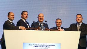 Borsa İstanbul'da gong Ziraat Portföy için çaldı