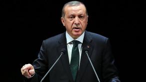 Erdoğan'ın ABD'deki konuşması sırasında salon karıştı