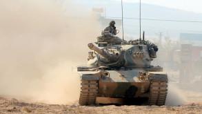 Tanklar savaş pozisyonunda