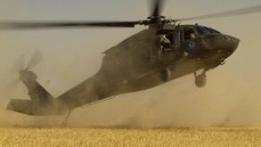 Askeri helikopter düştü: 10 ölü