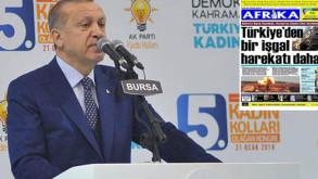 Cumhurbaşkanı Erdoğan'dan KKTC'deki gazeteye çok sert tepki