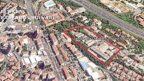 Beşiktaş'taki Jandarma arsası 472 milyona satıldı