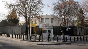 ABD'nin Ankara'daki büyükelçiliği önünde silah sesleri
