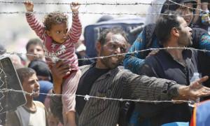 Kirli para için mülteci istemiyoruz!