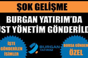 Burgan Yatırım'da üst yönetim gönderildi