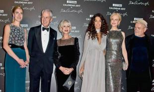 2018 Pirelli galasında dünyaca ünlü yıldızlar biraraya geldi