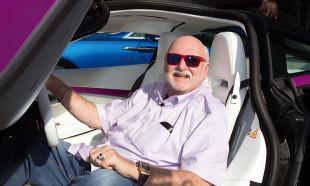 Michael Fux'un dev otomobil koleksiyonu...
