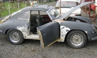 İşte 1955 model Porsche'nin muhteşem değişim