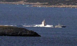 Kardak'ta Yunan ve Türk botları burun buruna geldi!