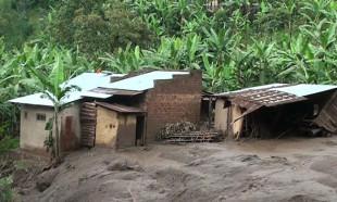 Uganda'da heyelan: En az 31 ölü
