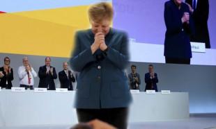Merkel CDU genel başkanı olarak son kez konuştu