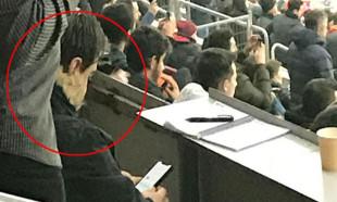 Türk Telekom Stadı'nda sürpriz konuk! 10 sayfa not aldı
