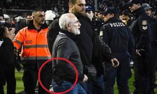 PAOK Başkanı Savvidis'e 3 yıl men cezası