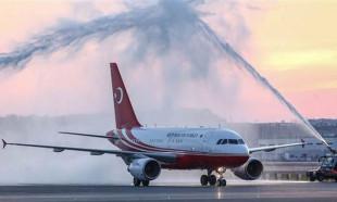 3. Havalimanı'ndaki tarihi inişten kareler