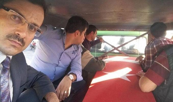 Şehit cenazesinde selfie çeken imama soruşturma