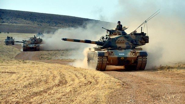Tanklar Hatay'dan girdi... PYD karadan da vurulacak