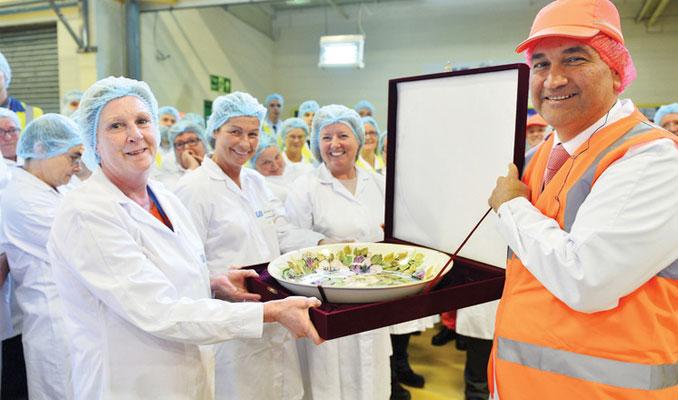 Ülker, İngiltere'deki fabrikayı 4 ay sonra hizmete açtı