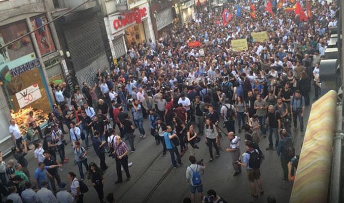 Gezi'nin yıldönümünde İstiklal'de gerginlik