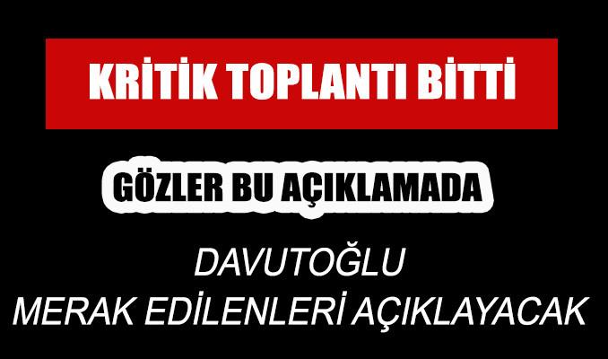 Ahmet  Davutoğlu kongre tarihini açıklayacak!