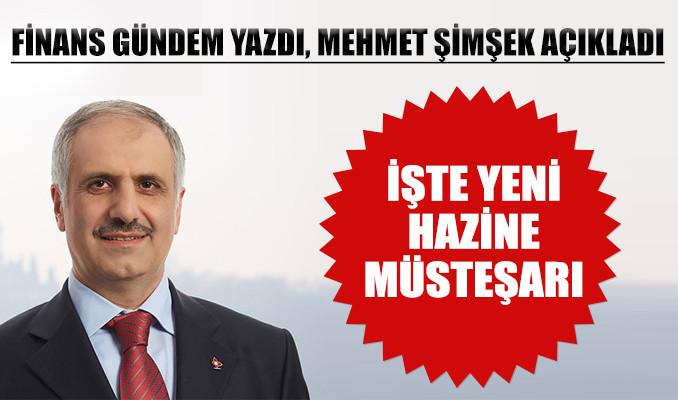 Yeni Hazine Müsteşarı Osman Çelik