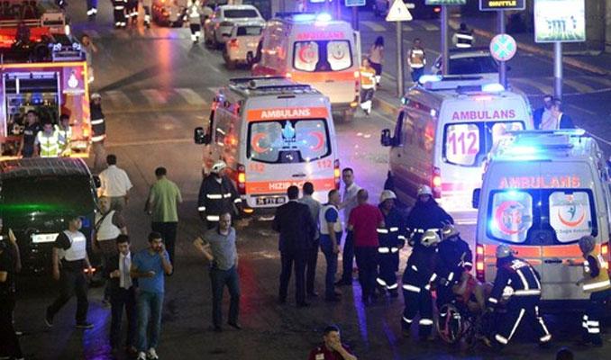 İstanbul Atatürk Havalimanı'nda canlı bomba: 28 ölü