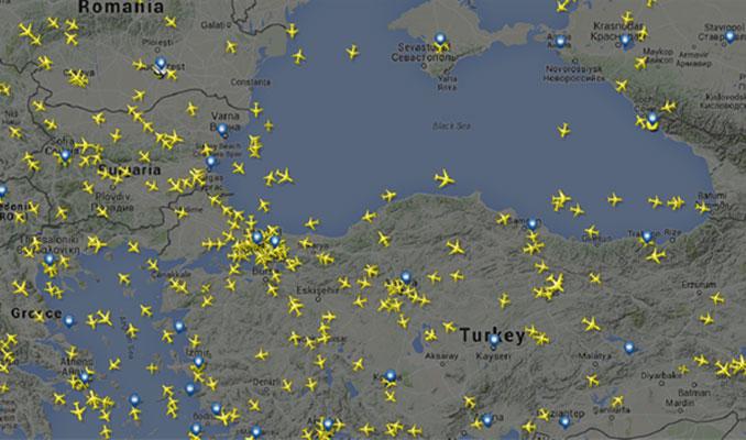 Saldırı sonrası hava trafiği kilitlendi