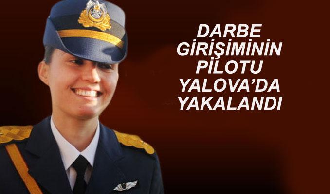Kadın savaş pilotu tutuklandı