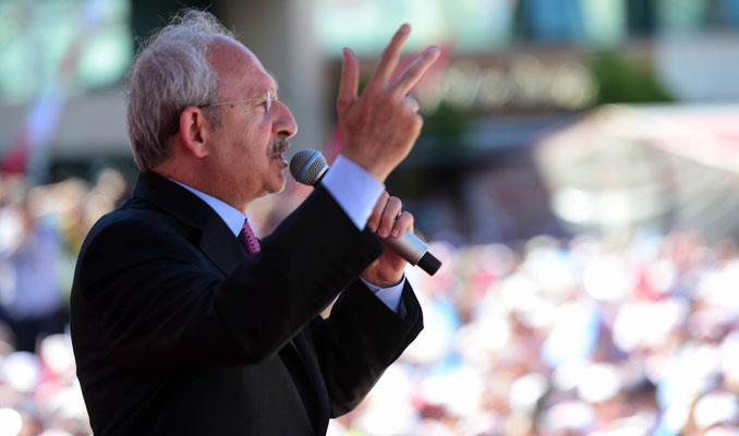 Kılıçdaroğlu Taksim Mitingi'nde konuşma yaptı