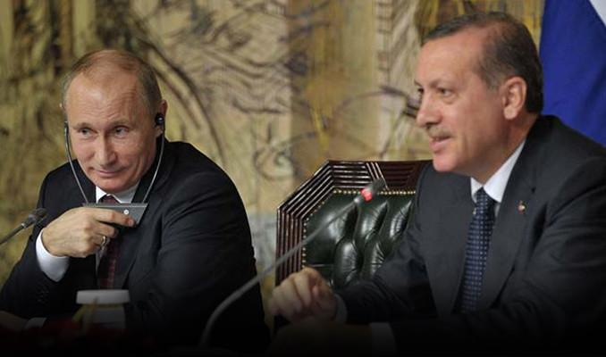 Cumhurbaşkanı Erdoğan Putin'le telefonda konuştu