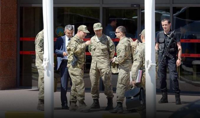 Erdoğan için alınan önlemleri Korgeneral Aksakallı denetledi