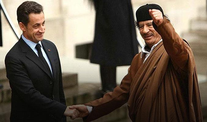 Kaddafi'den Sarkozy'ye destek iddiası